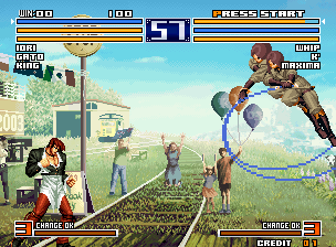 The King of Fighters 2004 Plus / Hero (The King of Fighters 2003 Bootleg) Screenshot