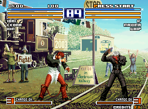 The King of Fighters 2004 Ultra Plus (The King of Fighters 2003 Bootleg) Screenshot