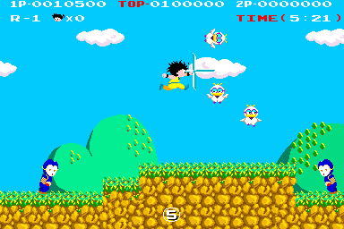 Kid Niki - Radical Ninja (World) Screenshot