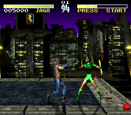 Killer Instinct (SNES bootleg) Screenshot