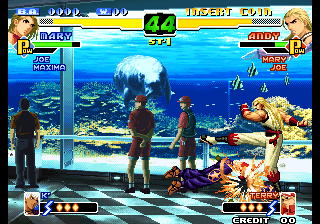 The King of Fighters 2000 (Not Encrypted) Screenshot