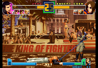 The King of Fighters 2001 (NGH-2621) Screenshot