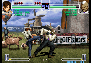 The King of Fighters 2002 (NGM-2650 ~ NGH-2650) Screenshot