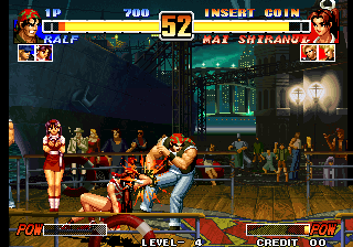 The King of Fighters '96 (Set 1) Screenshot