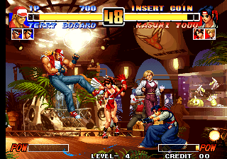 The King of Fighters '96 (NGH-214) Screenshot