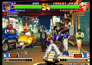 The King of Fighters '98: The Slugfest / King of Fighters '98: Dream Match Never Ends Screenshot