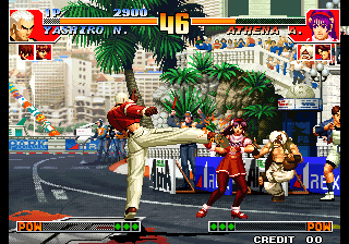King of Gladiator (The King of Fighters '97 bootleg) Screenshot