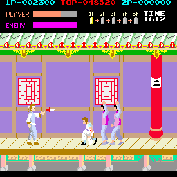 Kung-Fu Master (bootleg set 2) Screenshot