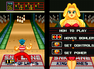 League Bowling (NGM-019 ~ NGH-019) Screenshot