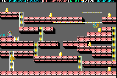 Lode Runner IV - Teikoku Karano Dasshutsu (Japan) Screenshot