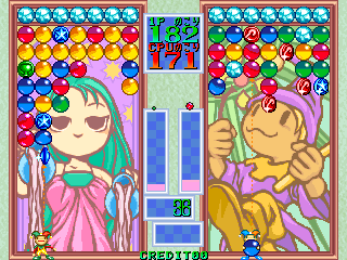 Magical Drop (Japan, Version 1.1, 1995.06.21) Screenshot