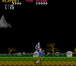 Makai-Mura (Japan Revision C) Screenshot