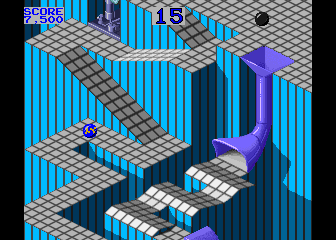 Marble Madness (set 5 - LSI Cartridge) Screenshot