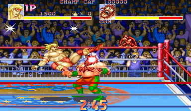 Muscle Bomber: The Body Explosion (Japan 930713) Screenshot