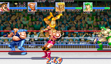 Muscle Bomber Duo: Ultimate Team Battle (World 931206) Screenshot
