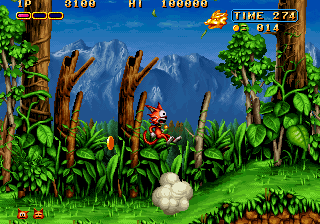 Magical Cat Adventure (Japan) Screenshot