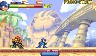 Mega Man 2: The Power Fighters (USA 960708) Screenshot