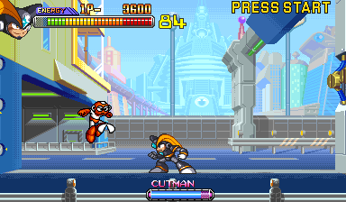 Mega Man 2: The Power Fighters (Asia 960708) Screenshot