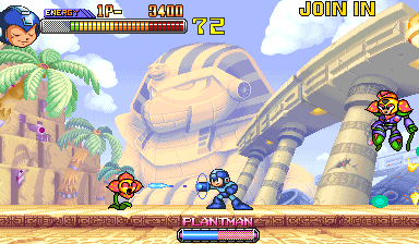 Mega Man 2: The Power Fighters (USA 960708 Phoenix Edition) (bootleg) Screenshot
