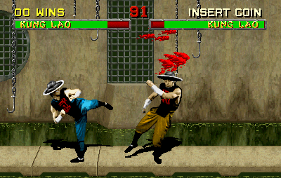 Mortal Kombat II (rev L1.4) Screenshot