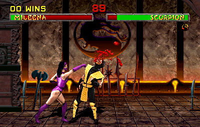 Mortal Kombat II (rev L3.1 (European)) Screenshot