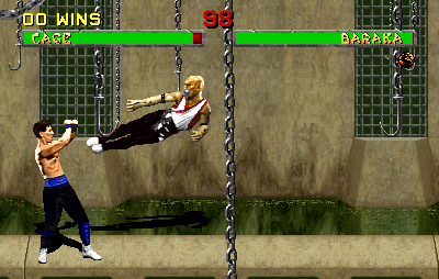 Mortal Kombat II (rev L4.2, hack) Screenshot