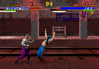 Mortal Kombat 3 (bootleg of Megadrive version) Screenshot