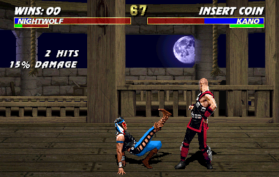 Mortal Kombat 3 (rev 1 chip label p4.0) Screenshot