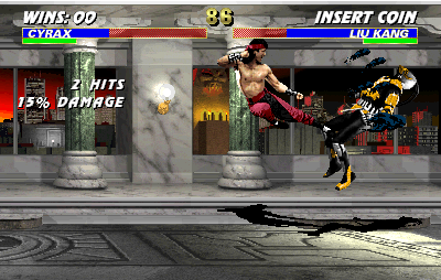 Mortal Kombat 3 (rev 2.0) Screenshot