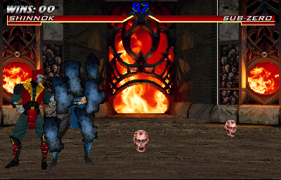 Mortal Kombat 4 (version 2.1) Screenshot