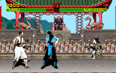Mortal Kombat (prototype, rev 9.0 07/28/92) Screenshot