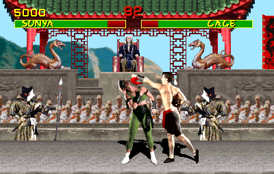Mortal Kombat (rev 4.0 T-Unit 02/11/93) Screenshot