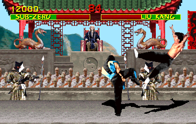 Mortal Kombat (Turbo Ninja T-Unit 03/19/93, hack) Screenshot