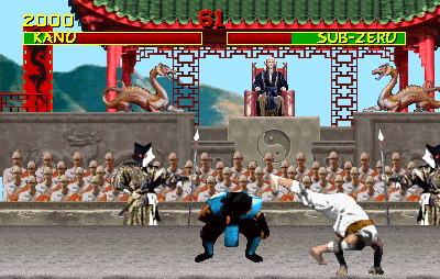 Mortal Kombat (Yawdim bootleg, set 1) Screenshot