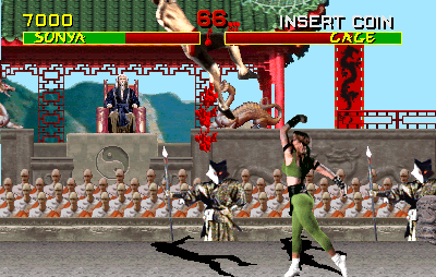 Mortal Kombat (Turbo 3.1 09/09/93, hack) Screenshot