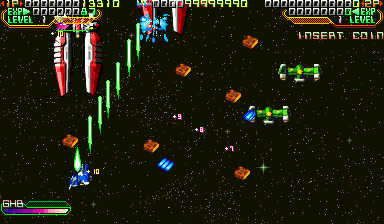 Mars Matrix: Hyper Solid Shooting (USA 000412 Phoenix Edition) (bootleg) Screenshot