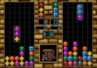 Columns III (Mega Play) Screenshot