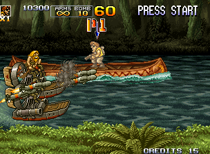 Metal Slug 5 (JAMMA PCB) Screenshot
