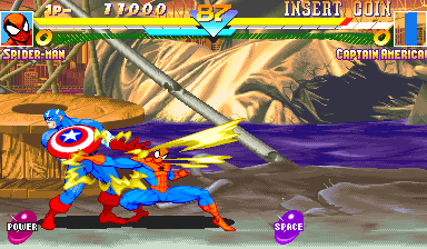 Marvel Super Heroes (Euro 951024) Screenshot