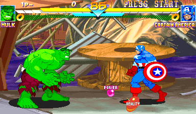Marvel Super Heroes (Asia 951024) Screenshot