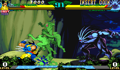 Marvel Super Heroes Vs. Street Fighter (Euro 970625) Screenshot