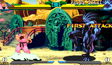 Marvel Super Heroes Vs. Street Fighter (Asia 970625) Screenshot