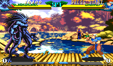 Marvel Super Heroes Vs. Street Fighter (Asia 970620) Screenshot