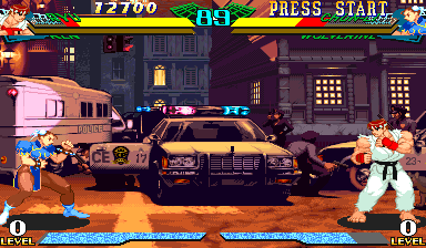Marvel Super Heroes Vs. Street Fighter (Brazil 970625) Screenshot
