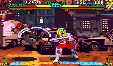 Marvel Super Heroes Vs. Street Fighter (Japan 970702) Screenshot