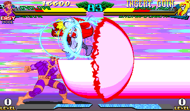 Marvel Super Heroes Vs. Street Fighter (USA 970625) Screenshot