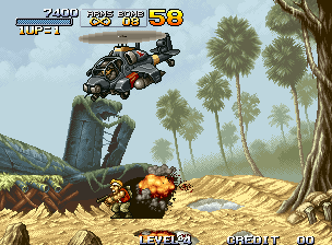 Metal Slug - Super Vehicle-001 Screenshot