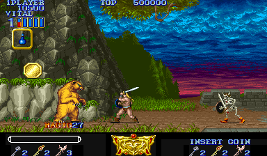 Magic Sword: Heroic Fantasy (USA 900725) Screenshot