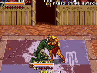 Mutant Fighter (World ver EM-5) Screenshot