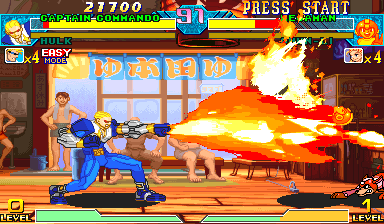 Marvel Vs. Capcom: Clash of Super Heroes (Brazil 980123) Screenshot